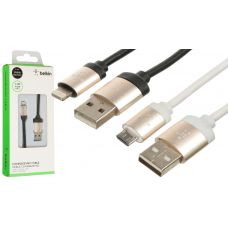 USB Кабель Belkin lightning металл блистер