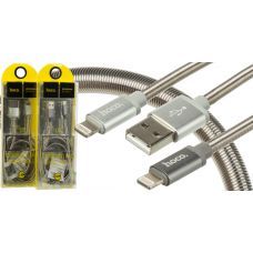 "USB Кабель HOCO U5 ""Full-Metal"" lightning (1.2М)"