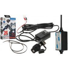 "USB Зарядка ""Morbest"" C31 с влагозащитой в мотоцикл (12-24V to USB 5V)"