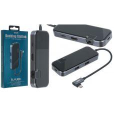 USB HUB REMAX RU-U88 Type-C 6in1