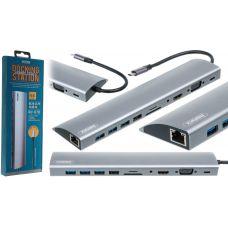 USB HUB REMAX RU-U70 Type-C 11in1
