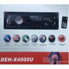 Автомагнитола Pioneer DEH-X4900U Еврофишка + радиатор