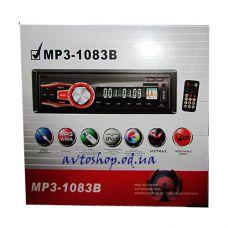 Автомагнитола 1083B (съемная панель ) SD, USB, AUX