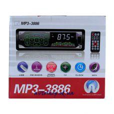 Автомагнитола MP3 3886 сенсорные кнопки