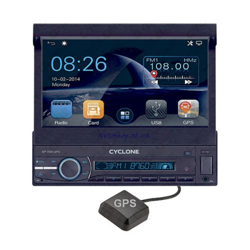 Автомагнитола Cyclone MP-7059 GPS