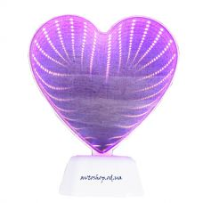 3-D ночник 55-09 сердце