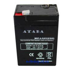 Аккумулятор ATABA  RB 640 6V 6A