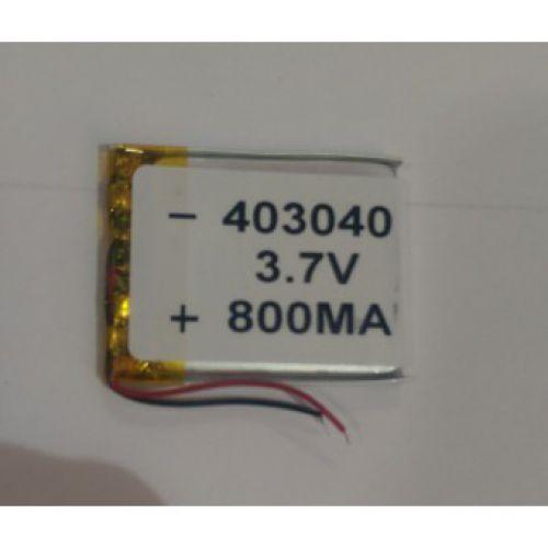Литий-ионовый полимерный аккумулятор 403040 3.7V 800mah