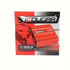 Усилитель  CAR AMP 500.2  Cougar