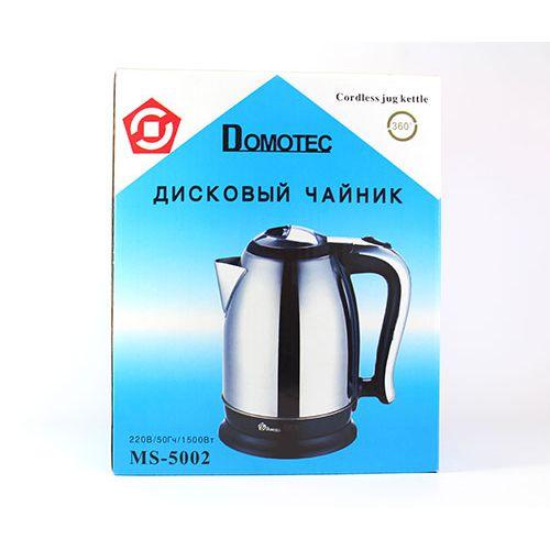 Электро чайник Domotec MS-5002 Нержавейка