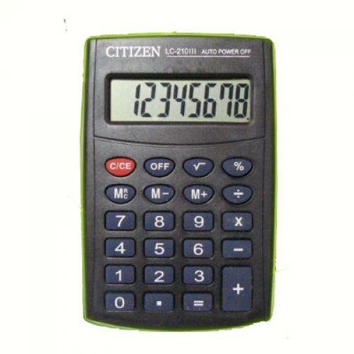 Калькулятор Citizen LC 210