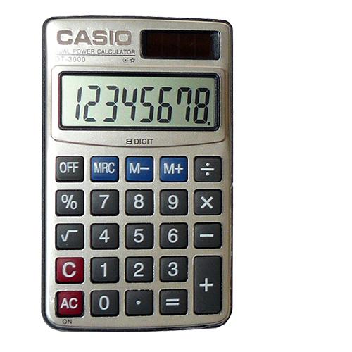 Калькулятор Casio 3000
