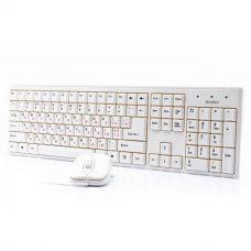 Клавиатура + Мышь Sven 310 White (проводная USB)