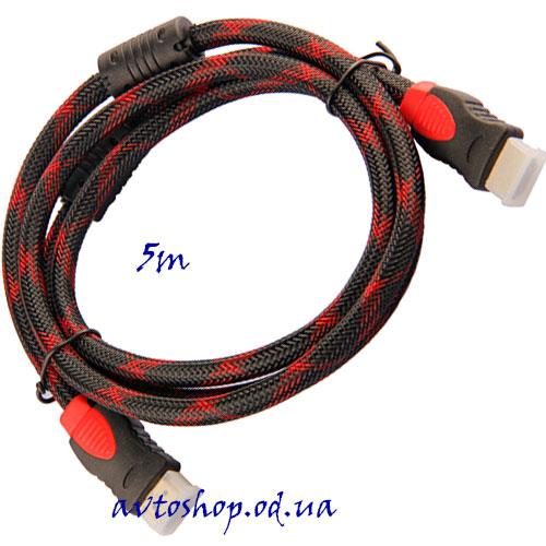 Кабель HDMI-HDMI 5m