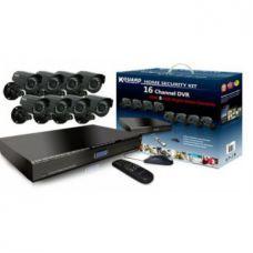 Комплект видеонаблюдения DVR KIT 6508 8 камер