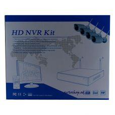 Беспроводный комплект видеонаблюдения на 8 камер 8008 kit Wi-Fi
