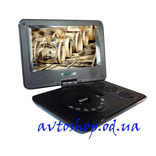 Портативный DVD плеер Opera SX-758 TV/USB/SD/T2