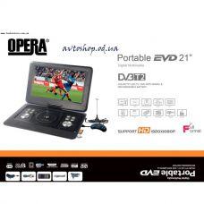 Портативный DVD плеер Opera OP-1580D с Т 2 тюнером