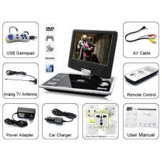 Портативный DVD плеер Opera 981 T2  TV/USB/SD