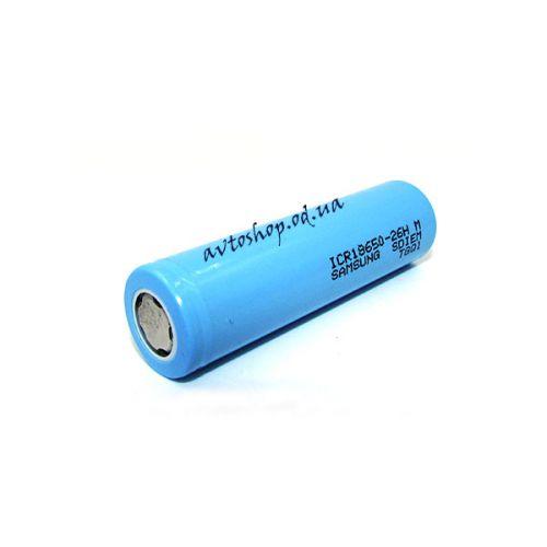 Аккумулятор 18650, Samsung 26H, 2600mAh, 3.7V