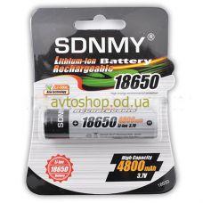Аккумулятор SDNMY 18650-4800mAh с защитой