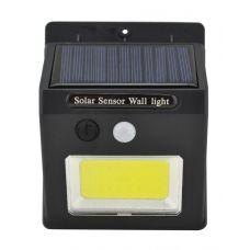 Настенный уличный светильник SH-1605 с датчиком движения и солнечной панелью