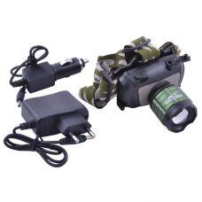 Фонарик на лоб Police 12V BL-6888-12 000W, XPE, ак.BL5C