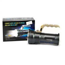 Фонарик 12V T801-2 XPE zoom 2ак 18650 с ручкой