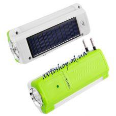 Фонарь Yajia 1031 T 1W+9SMD солнечная батарея