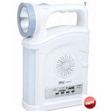 Радио фонарь  YAJIA YJ-2885 SY, 1W+22SMD, USB