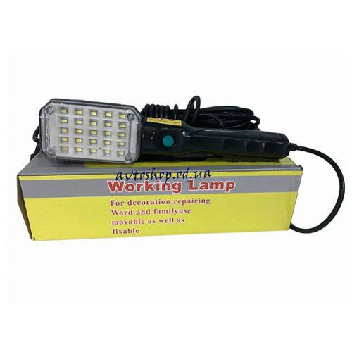 Фонарик BL 9025 для сто с магнитом и работает от 220в кабель 9 метров