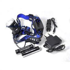Налобный фонарь X-Balog BL T24 P50 2*18650
