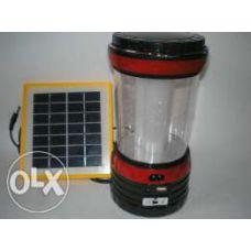 Фонарик лампа 5835 DT (солнечная  батарея)