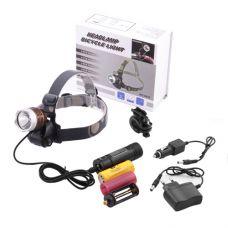 Налобный фонарь Police 6810-5000W Т6 GREE