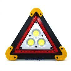 Прожектор светодиодный BL303-20W-3COB, 2x18650/3xAA, ЗУ micro USB, Power Bank