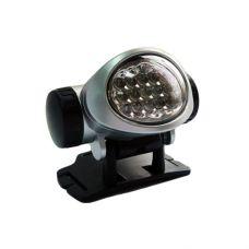 Налобный фонарь пластик 15 диодов 603/ 15