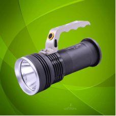 Фонарик 12V T801-13000W XPE zoom 2ак 18650 с ручкой