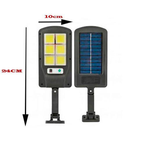 Уличный фонарь прожектор X-Balog ВК-818-6СОВ с датчиком движения