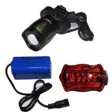 Велосипедный фонарик x-Balog BL-B02 T6
