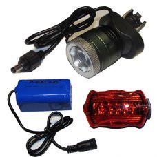 Велосипедный фонарик x-Balog BL-B02B T6