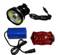 Велосипедный фонарик x-Balog BL-B031 COB