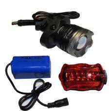 Велосипедный фонарик x-Balog BL-B07D T6