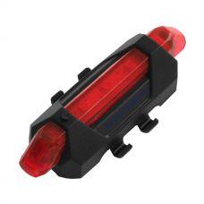 Велосипедный фонарь DC 918 красный