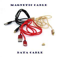 Магнитный кабель для зарядки телефона MicroUSB