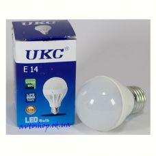 Led лампочка UKC 3W  E14