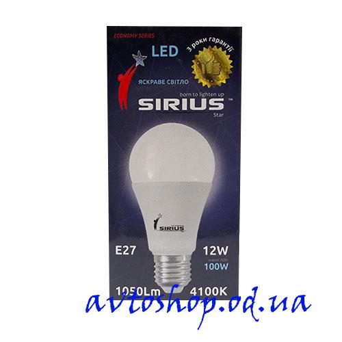 Led лампочка Sirius 12W E27