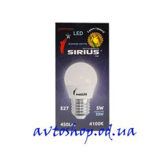 Led лампочка Sirius 5W