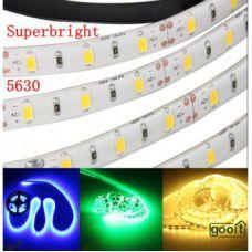 Светодиодная лента 5630 60 шт./метр зеленая (в силиконе) (цена за 5 метров)