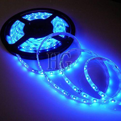 Светодиодная лента SMD 3528 60 шт/м Синяя (цена за 5 метров)