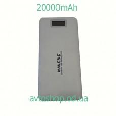Портативное зарядное устройство Power Bank 20000mAh (2 USB)